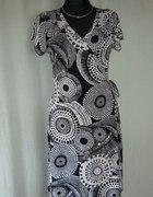 sukienka kopertowa ELLOS 46 48