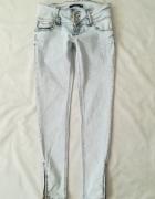 Tally Weijl jasno niebieskie spodnie jeansy 38...
