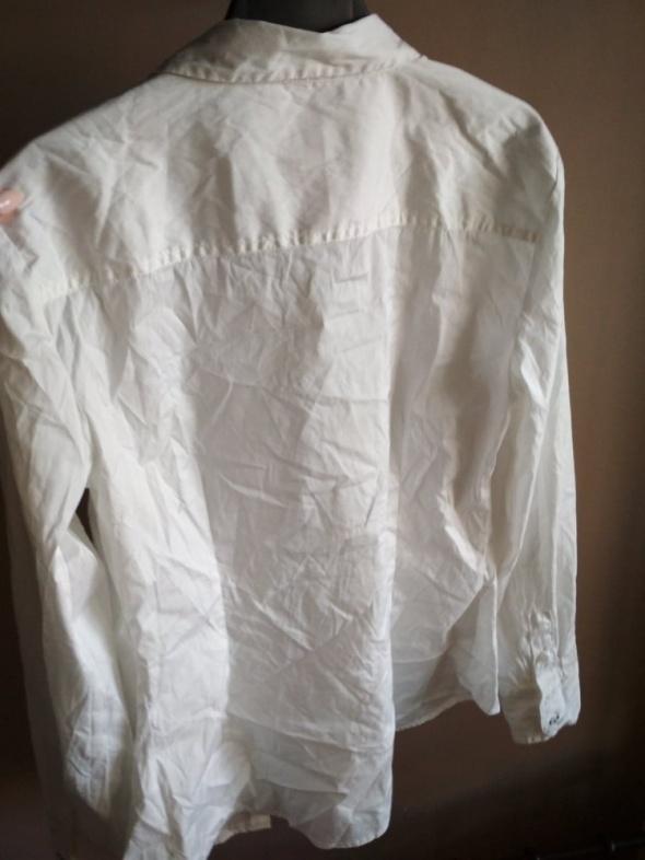 Biała koszula ZARA BASIC L elegancka originalna...