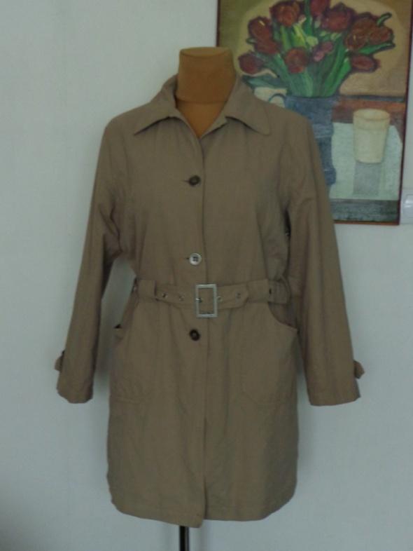 PACO JACKET wiosenny beżowy płaszcz 44 46