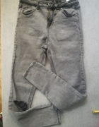 Spodnie Reserved L Łaty...