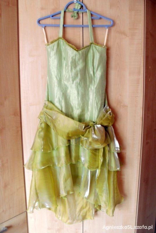 Sukienka asymetryczna r L