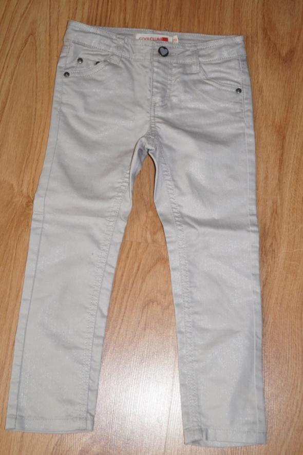 srebrne spodnie cool club 110