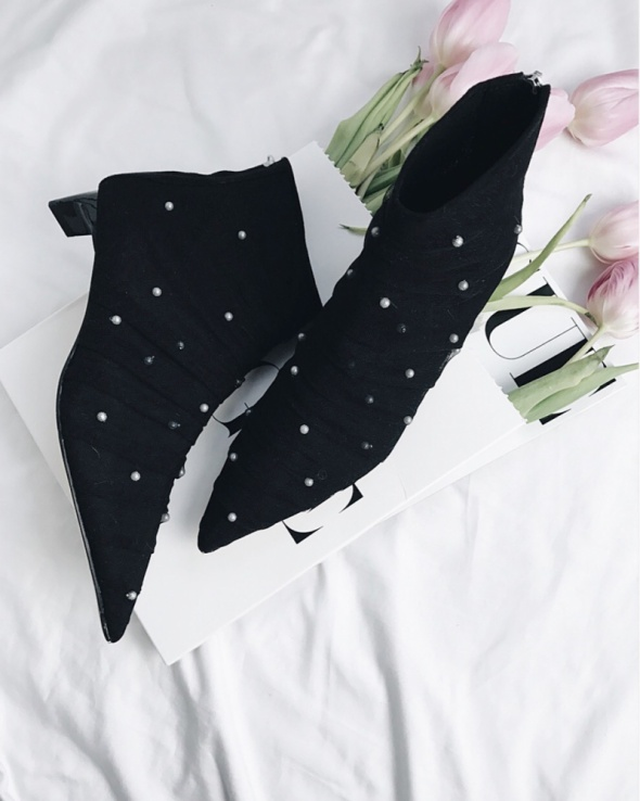 Zara jak nowe bardzo modne buty