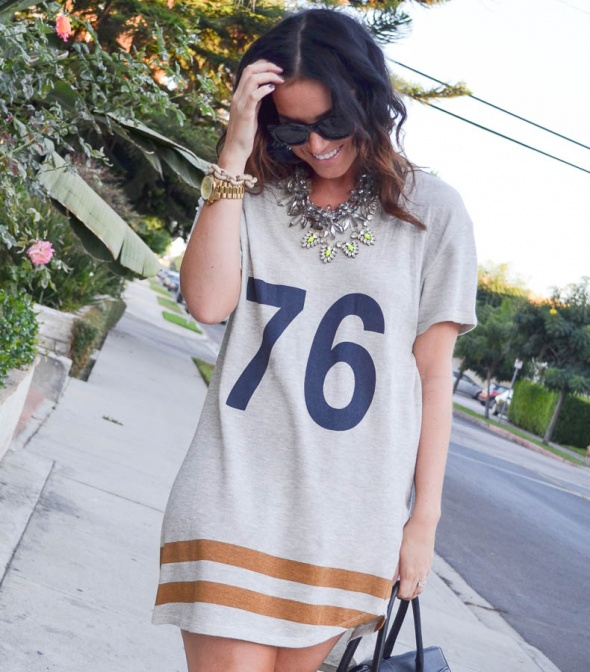 Zara dresowa sukienka numer 76 college