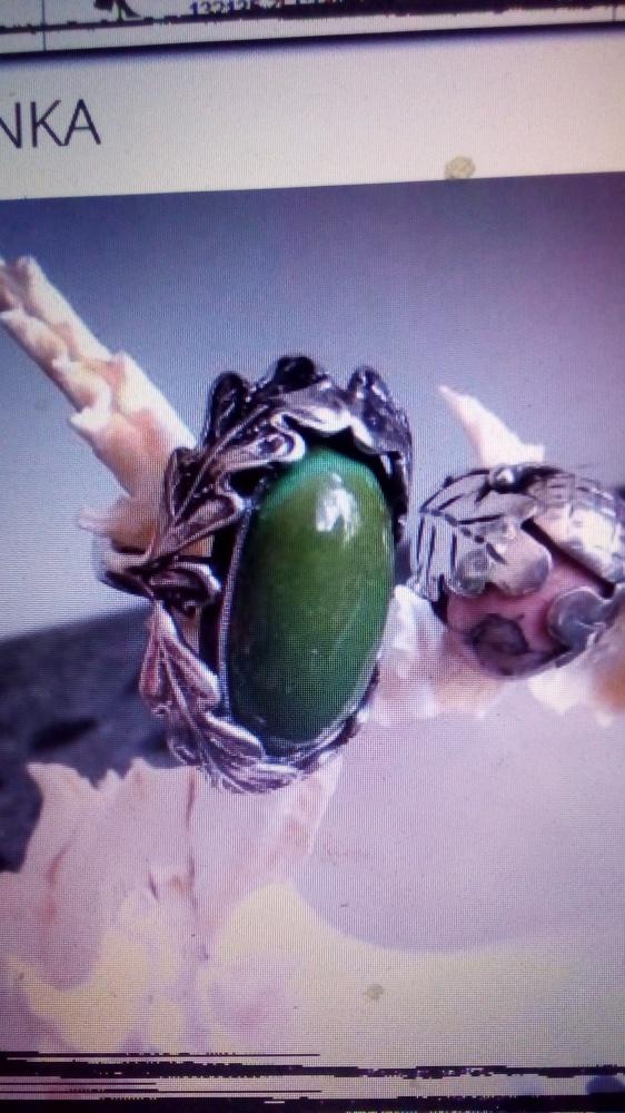 stare srebrne dębowe pierścionki