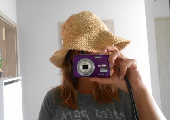 HM nowy słomkowy kapelusz