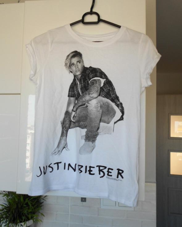 Fishbone new yorker koszulka justin bieber tshirt print