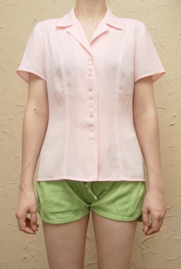 Różowa koszula Rozmiar XS S
