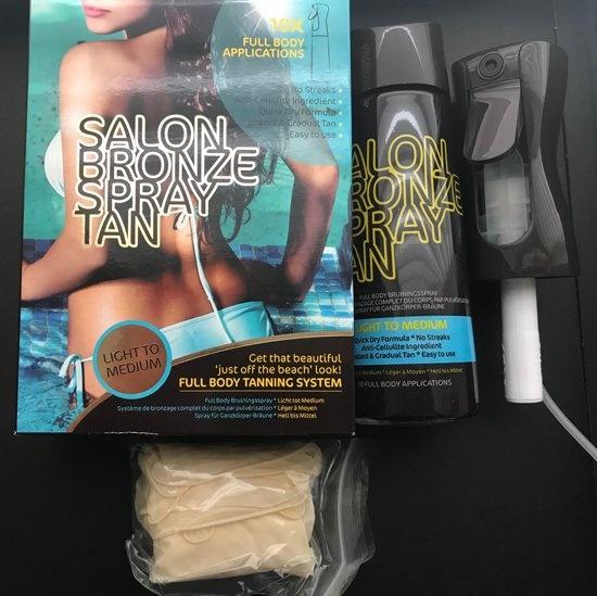 profesjonalny spray samoopalacz do ciała salon bronze spray