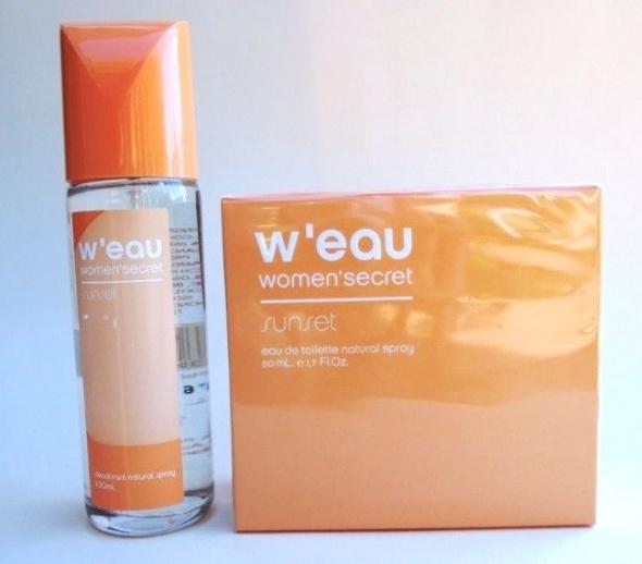 Women Secret W eau Sunset zestaw perfumowany