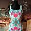 sukienka ołówkowa kwiaty floral modny wzór hit 40 L...