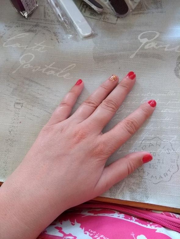 moje paznokcie w wersji eleganckiej