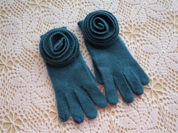 SOLAR niebieskie rękawiczki