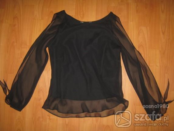 Czarna powiewna bluzka rozmiar 40