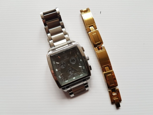 Zegarek męski i bransoleta
