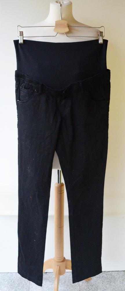 Spodnie Czarna Ciążowe Mama Licious M 38 Rurki