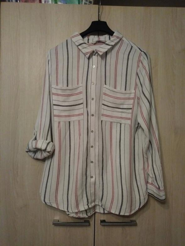 koszula paski