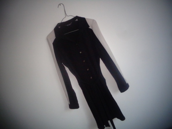 koszulowa sukienka pasek L