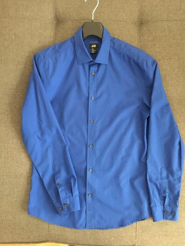 Niebieska koszula H&M