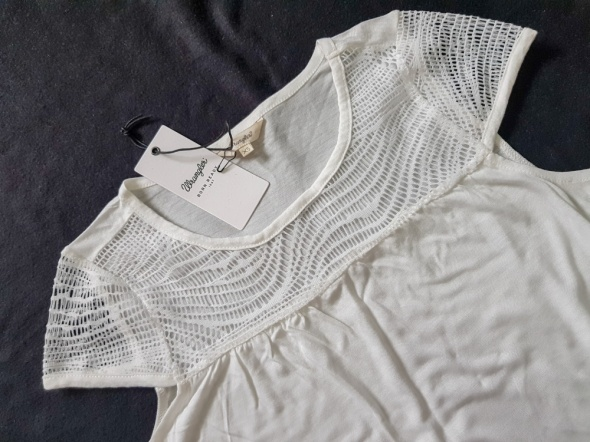 Biała bluzka top Wrangler