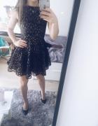 sukienka asos rozkloszowana studniówka...