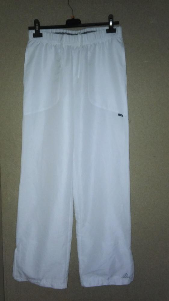 Adidas białe spodnie sportowe vintage retro 38 40...