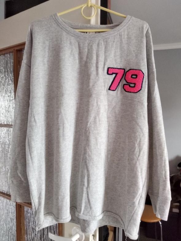 Bluza na frotce z numerkiem roz 44