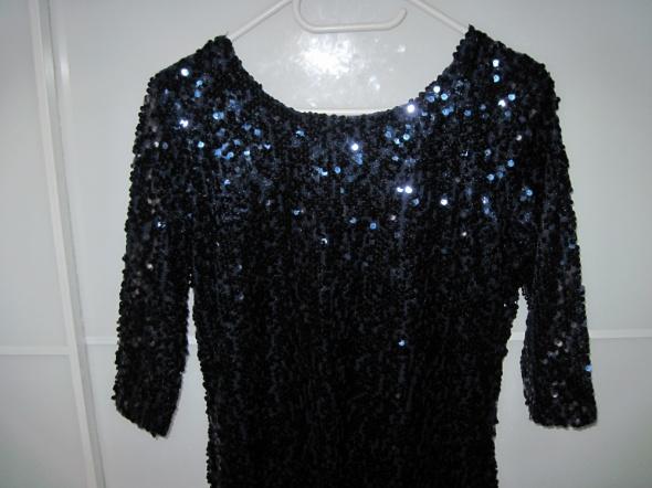 Cekinowa sukienka z kolekcji Heidi Klum 38 40