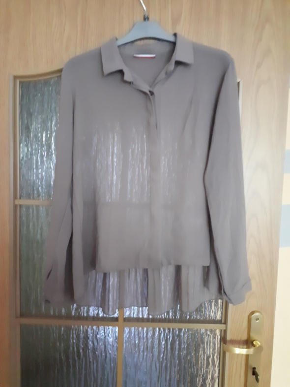 Koszula z tyłem plisowanym