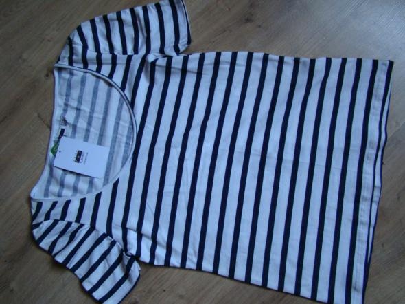 Bluzeczka Pasiak T shirt Zara Nowa M L