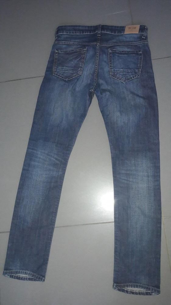 Rurki jeans Big Star W27L30...
