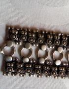 Ażurowa srebrna bransoleta pr 925...