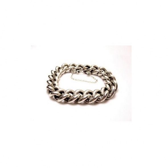 BRANSOLETKA srebrna męska WARMET PR 925
