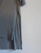 Szara długa bluzka