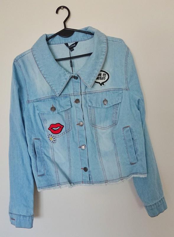 jeansowa kurtka katana XXL