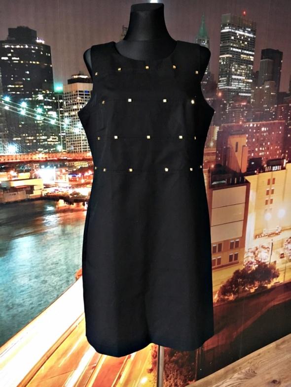 calvin klein sukienka elegancka dżety jak nowa 42...