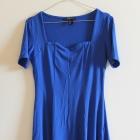 Nowa Sukienka szafirowa chabrowa kobaltowa L 40