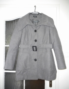 Płaszcz zimowy szary rozmiar 38