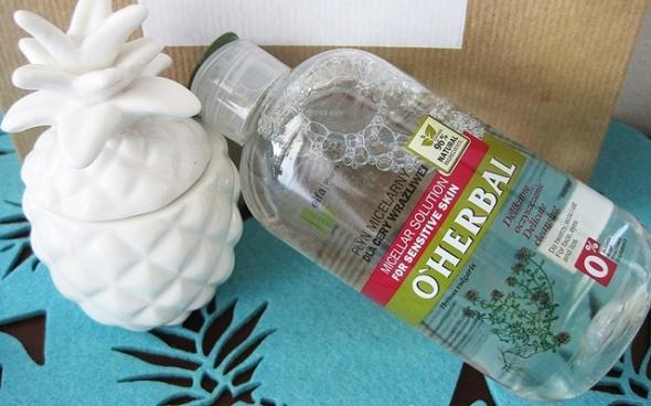 Płyn micelarny z ekstraktem z macierzanki tymianku do cery wrażliwej OHerbal