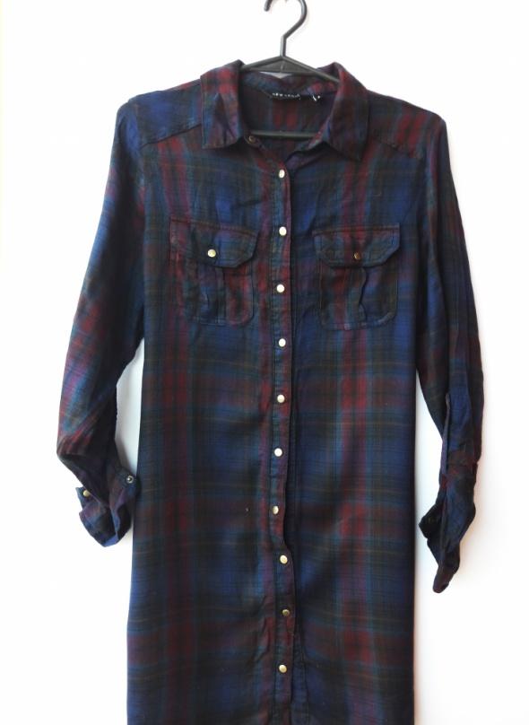 Koszula w kratę New Look rozmiar 36 S...