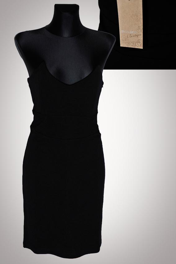 Sukienka Love Label rozmiar M mała czarna
