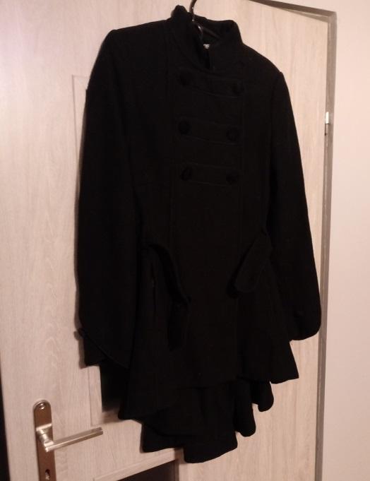 asymeryczny płaszcz asos...