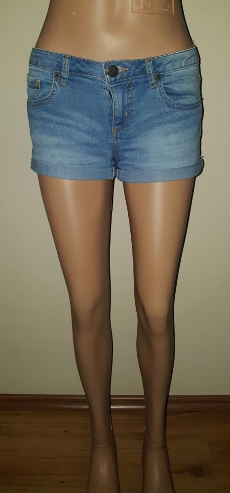 Spodenki Jeansowe krotkie spodenki