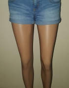 Jeansowe krotkie spodenki