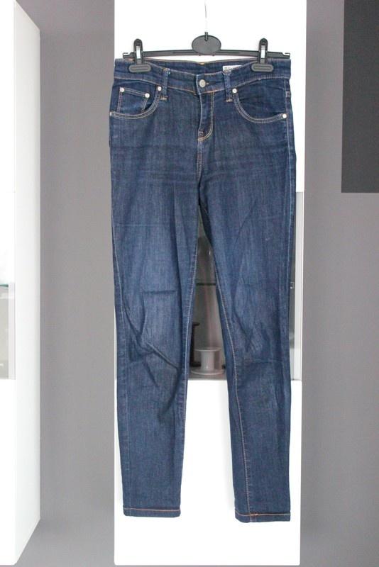 jeansy rurki dżinsy big star granatowe granat wysoki stan wysok...