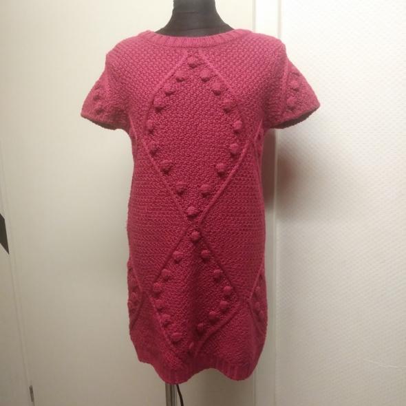 nowa sukienka 122 128 River Island kolor fuksja...