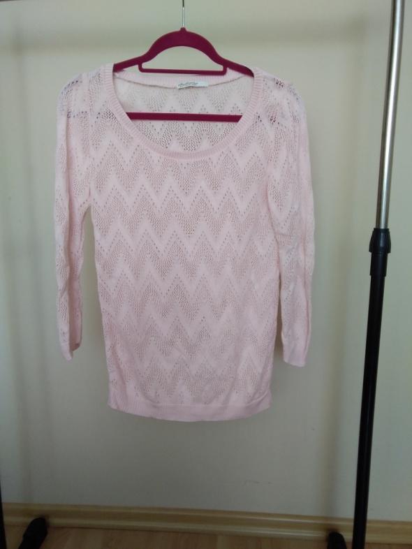 Sweter ażurkowy stradivarius
