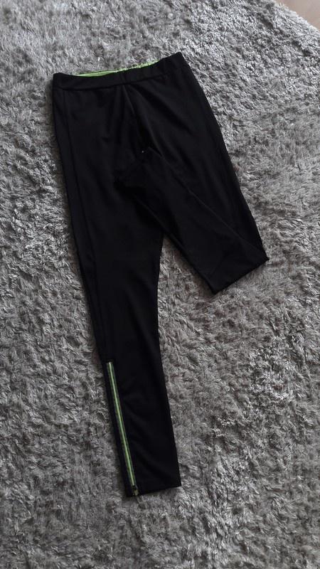 Czarne legginsy sportowe treningowe Reserved 38 wysoki stan...