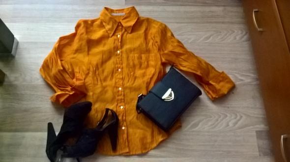 Pomarańczowa koszula mgiełka